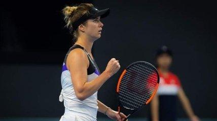 Свитолина с победы стартовала на Итоговом турнире WTA