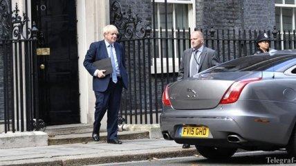 Лондон инициирует расследование против Джонсона