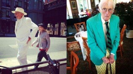 Экстравагантные пожилые модники (Фото)
