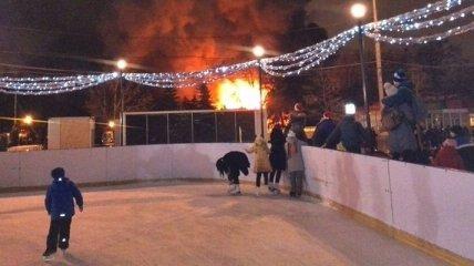 В ГСЧС не видят в харьковском пожаре признаков теракта
