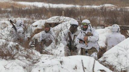 Штаб ООС: За минувшие сутки боевики 4 раза открывали огонь по ВСУ