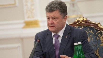 Порошенко встретится с представителями Донбасса