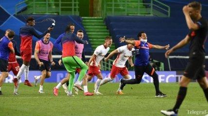 РБ Лейпциг - Атлетико: видео голов и обзор матча