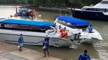 Столконвение на воде: В Таиланде пострадало более 20 человек, двое детей погибли