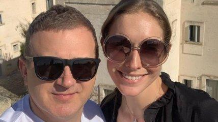 Катя Осадчая и Юрий Горбунов поделились милыми снимками с семейного отдыха