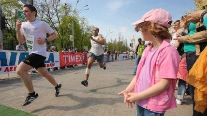 Милиция отчиталась о Киевском марафоне