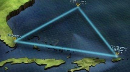Загадочная пирамида обнаружена в Бермудском треугольнике