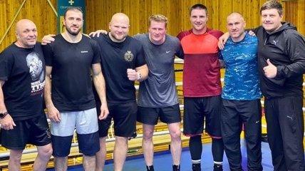 Поветкин поблагодарил украинских боксеров за спарринги (Видео)