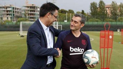 """""""Я не переживаю"""": наставник Барселоны о возможном увольнении"""