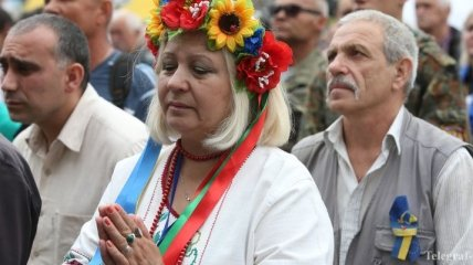 На Майдане прошло народное Вече (Видео)