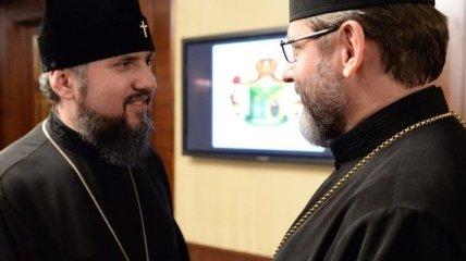 В ПЦУ рассказали детали встречи Епифания и Святослава