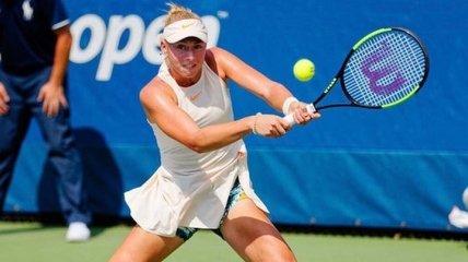 15-летняя украинская теннисистка выиграла 10 матчей подряд