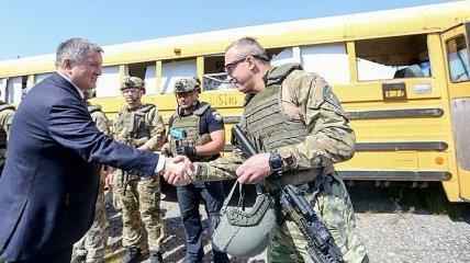 Аваков посетил полицейскую академию Хьюстона