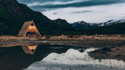 Потрясающая сауна под открытым небом (Фото)