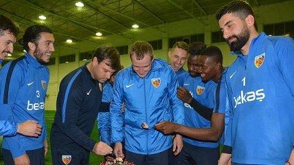Кучер забил свой первый гол за Кайсериспор (Видео)