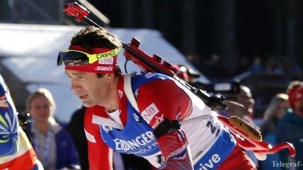 Бьорндален пропустит этап КМ по биатлону в Рупольдинге