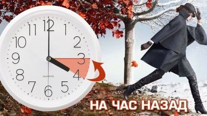 Этой ночью Украина переходит на зимнее время: куда переводить стрелки часов