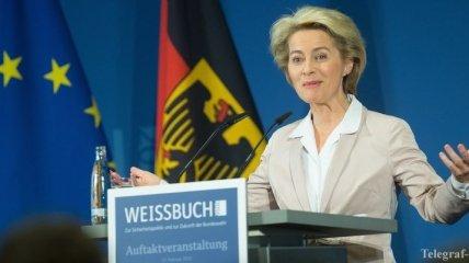 Минобороны ФРГ: ЕС нуждается в собственной армии