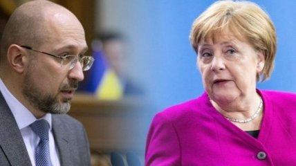 Глава украинского правительства пообщается с канцлером Германии