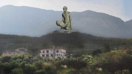 """Ліпили ногу, а вийшло що вийшло: на Кіпрі хочуть встановити статую селянина з """"гігантським пенісом"""""""