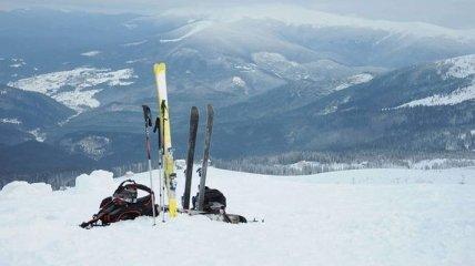 В горах Закарпатья погиб лыжник