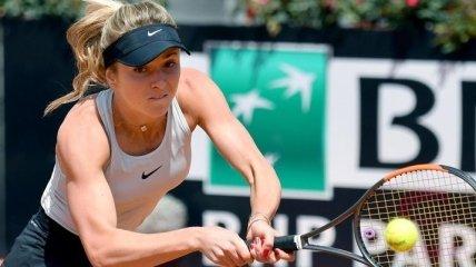 Свитолина совершила невероятный камбэк на турнире в Риме
