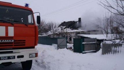 В Харьковской области при пожаре погибла супружеская пара