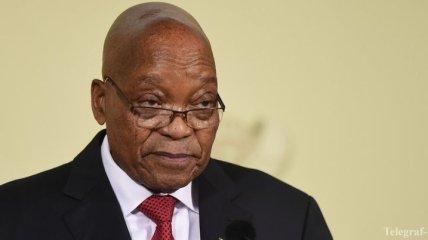Президент ЮАР объявил об отставке