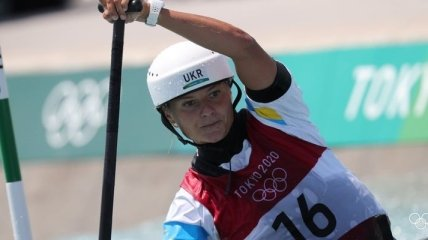 Украинка Ус заняла 7-е место в гребном слаломе на Олимпиаде в Токио