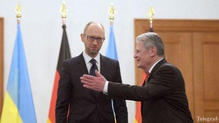 Арсений Яценюк встретился с представителями немецких деловых кругов
