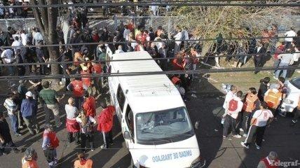 В Аргентине автобус столкнулся с грузовиком: 15 человек погибли