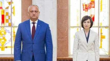 Пророссийский Додон проиграл первый тур выборов в Молдове