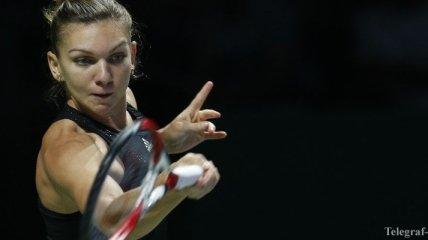Симона Халеп - вторая финалистка итогового турнира WTA