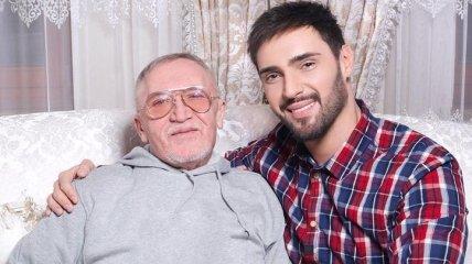 Виталий Козловский потерял отца