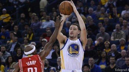 Клэй Томпсон установил 2 рекорда НБА (Видео)