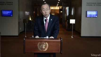 Генсек ООН опасается, что референдум усугубит ситуацию в Крыму