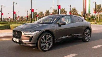 Jaguar представил первый беспилотный кроссовер