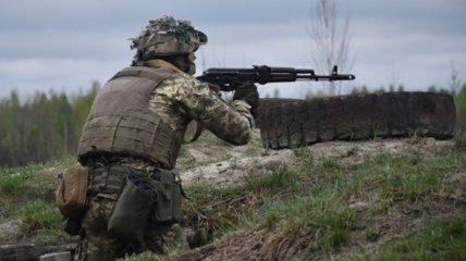 На Донбассе боевики 16 раз открывали огонь