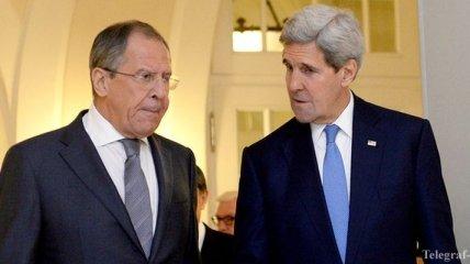 Керри и Лавров обсудили конфликт на востоке Украины