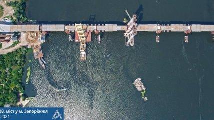 Строили 17 лет - в Запорожье соединили Хортицу с левым берегом  Днепра (фото)