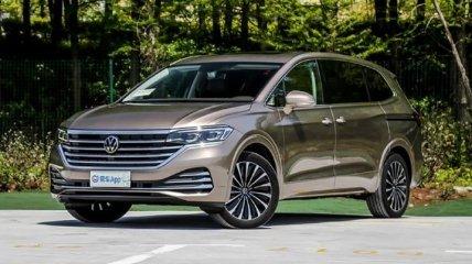 Стартовали продажи премиального минивэна Volkswagen Viloran (Фото)