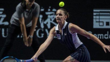Плишкова прекратила сотрудничество с тренером