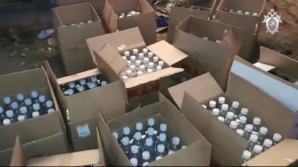 Ящики с суррогатным алкоголем
