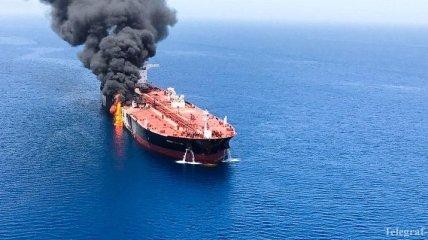 Атака на танкеры в Оманском заливе: США обвинили Иран в обстреле их беспилотника