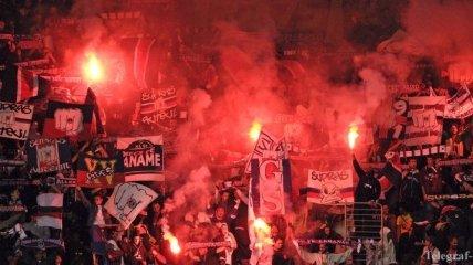Во Франции фанатам ПСЖ запретили посещать ближайший матч Лиги 1