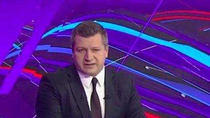 Нацизм и братоубийственная война: ведущий на главном канале Беларуси выдал резкий спич об Украине