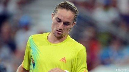 Долгополов покидает турнир в Истбурне