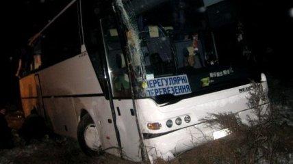 В Тернопольской области перевернулся пассажирский автобус