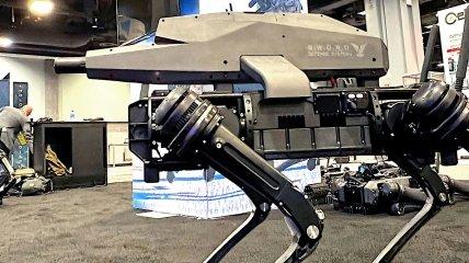 Робопес здатний розвивати швидкість до 7,2 км/год