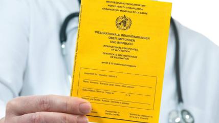 Египет не признает украинские сертификаты о вакцинации от COVID-19